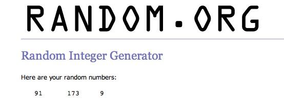 Random Integer nos