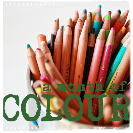A month of colour logo