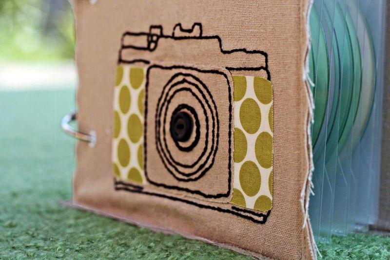 Camera album side