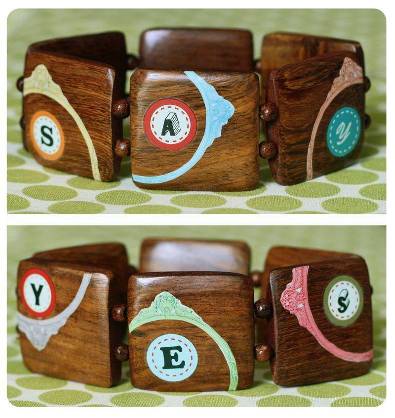Say yes bracelets