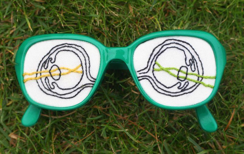 Grassy glasses