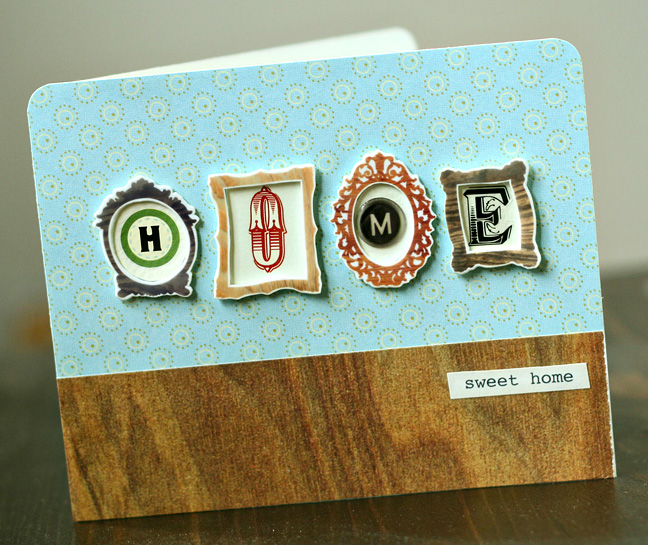Home card