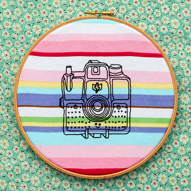 Stripy camera