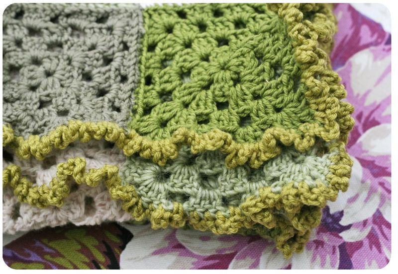 Crochet scarf 7