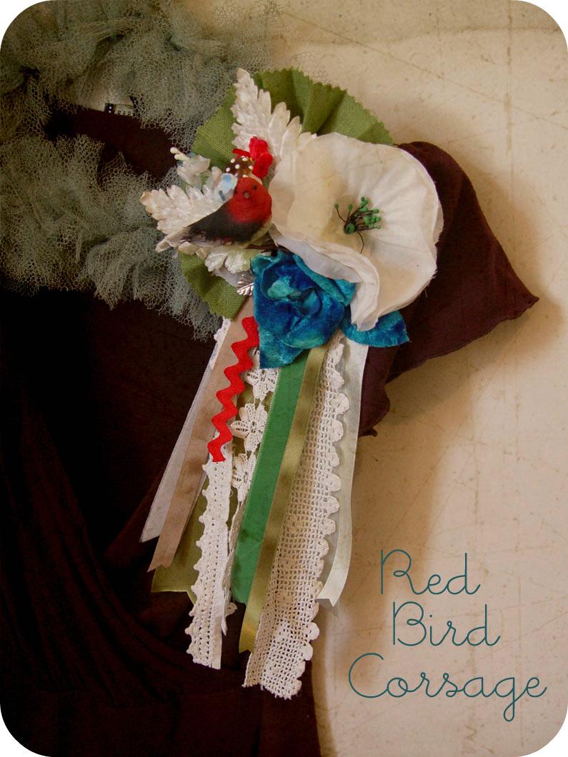 Redbirdcorsage