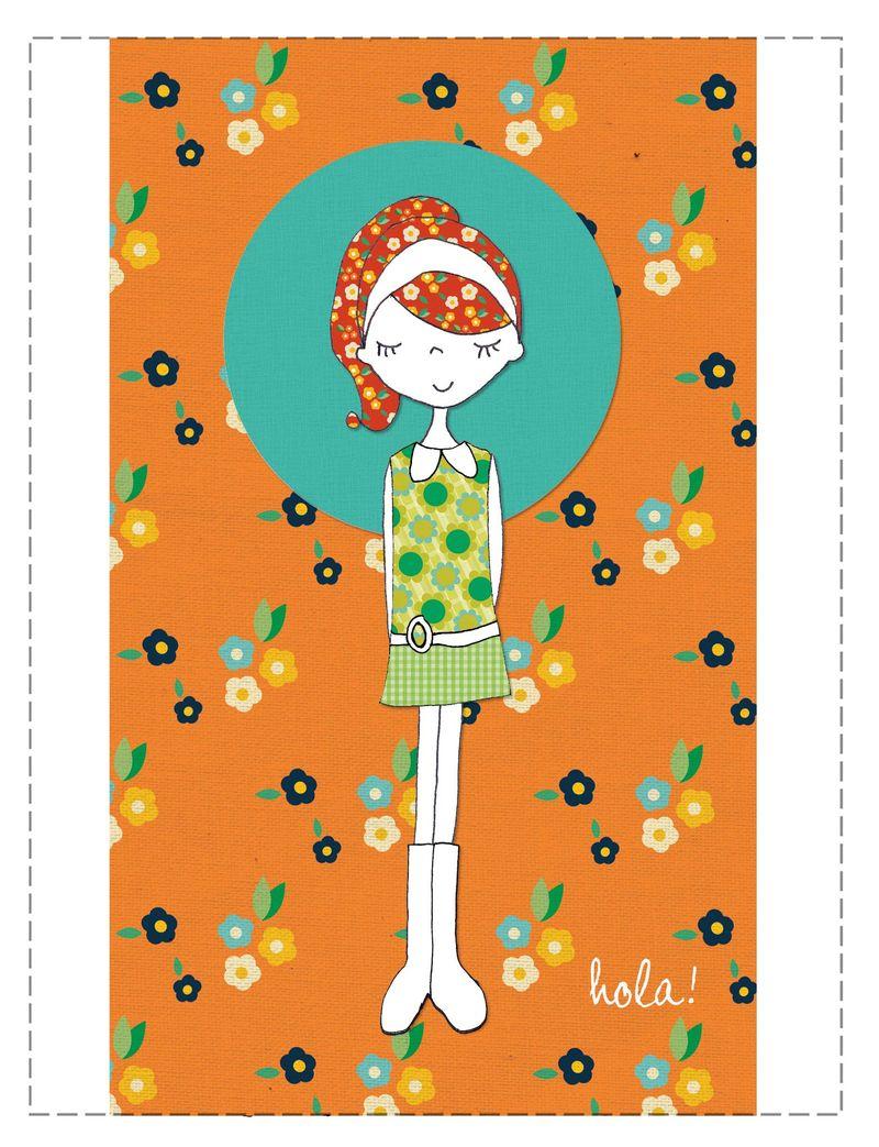 Calico card 1