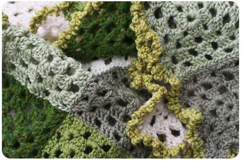 Crochet scarf 5