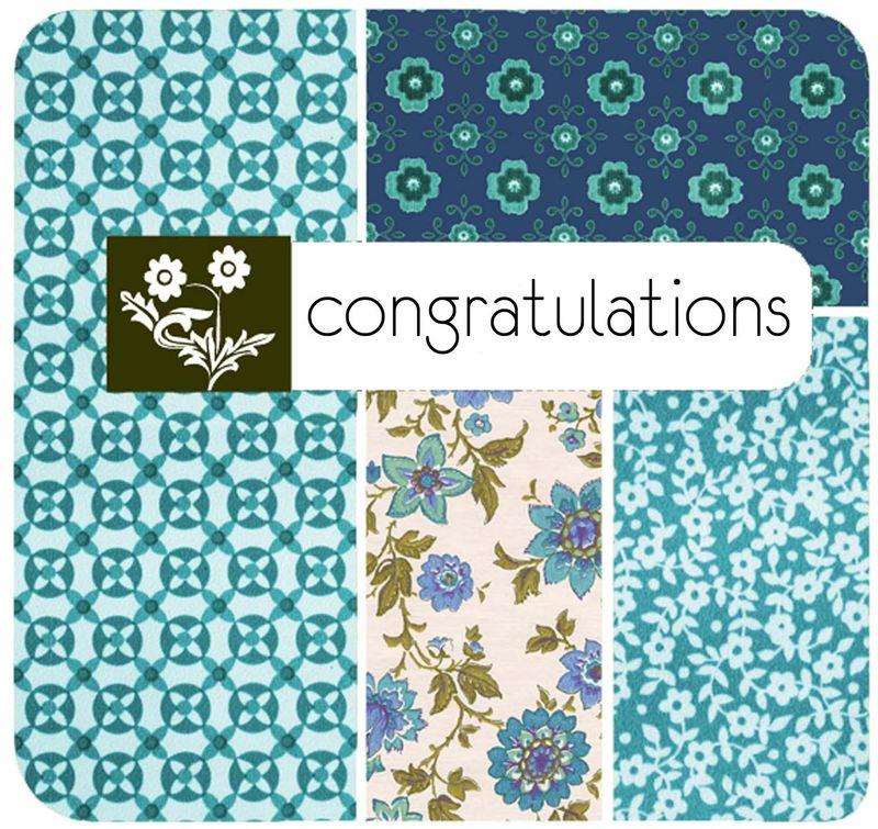 Congrats card front