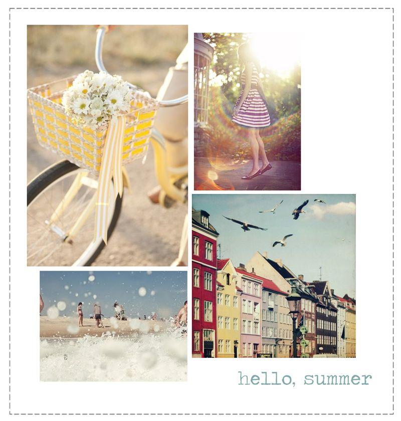 Hello Summer (frame)