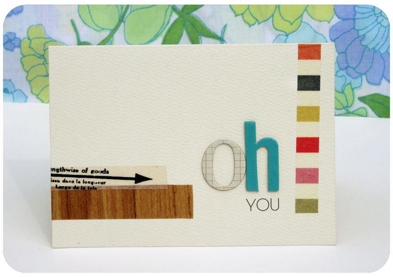 Tape card