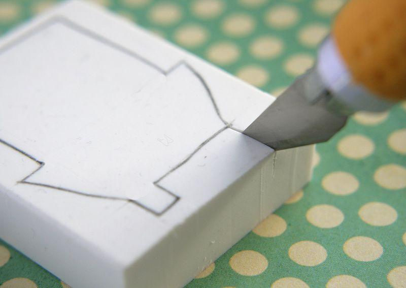 Eraser stamping 3