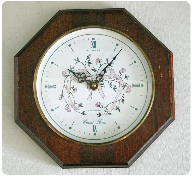 Clock before