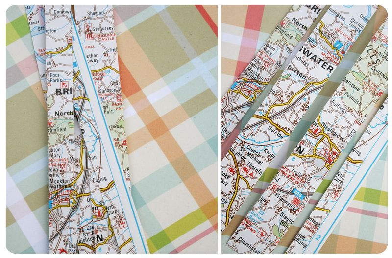 Map tape both