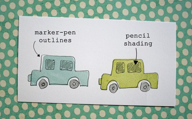 Eraser stamping - cars 2