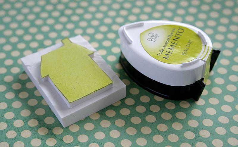 Eraser stamping 6