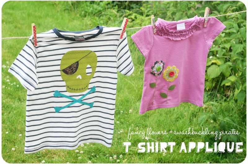 Applique tshirts - both