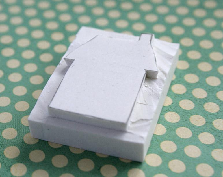 Eraser stamping 5