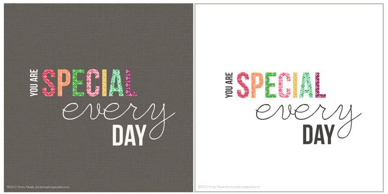 Special Every Day prints - both