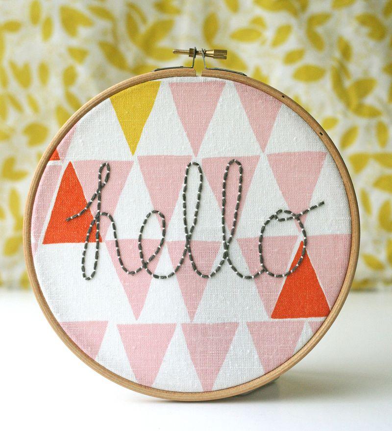 Hello hoop | Kirsty Neale
