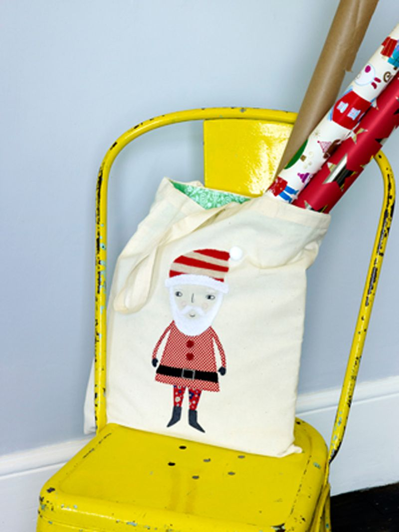 Christmas tote bag (Kirsty Neale)