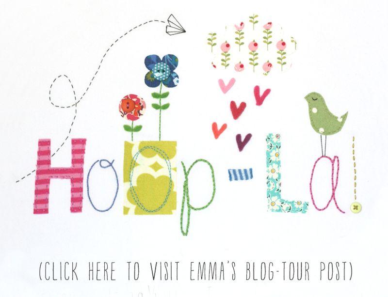 Hoop-la blog tour button (Emma Lamb)