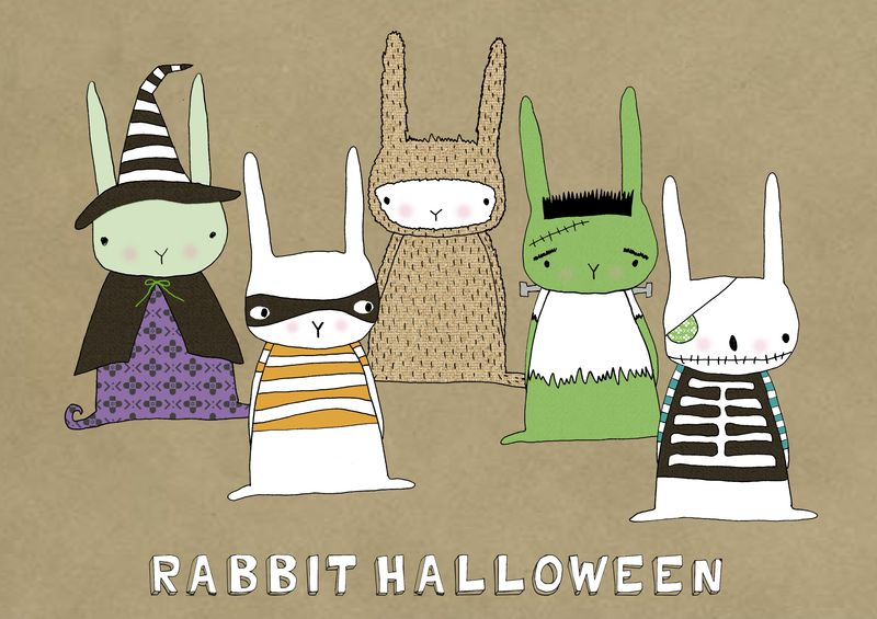 Rabbit Halloween