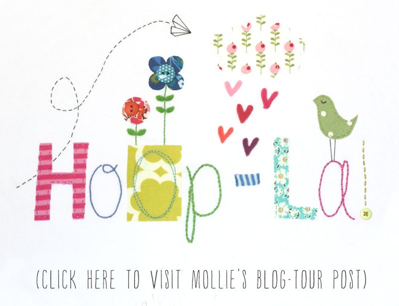 Hoop-la blog tour button (Wild Olive)