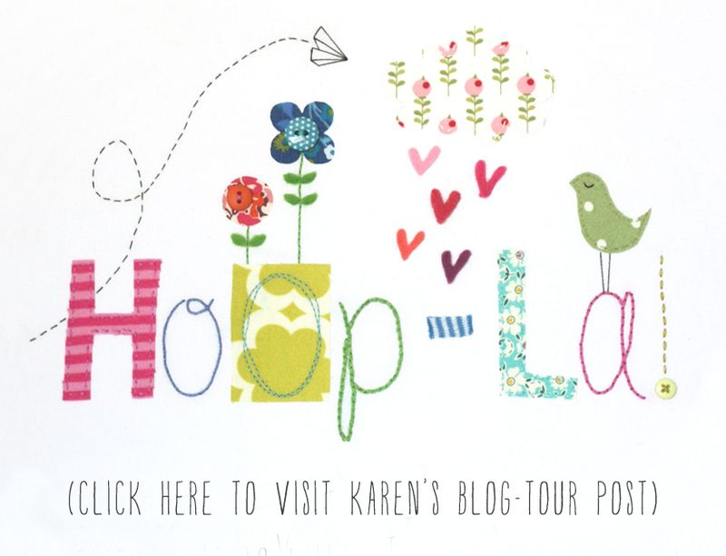 Hoop-la blog tour button (Karen)