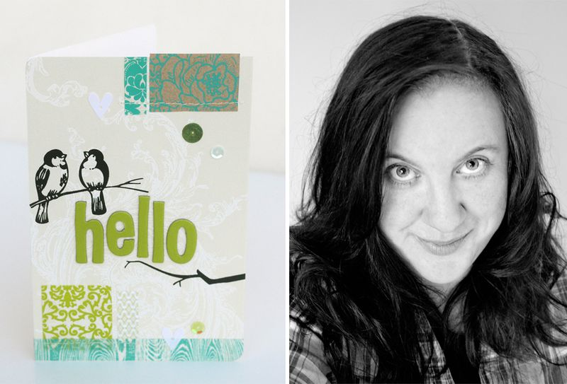 Hello card (Kirsty Neale)