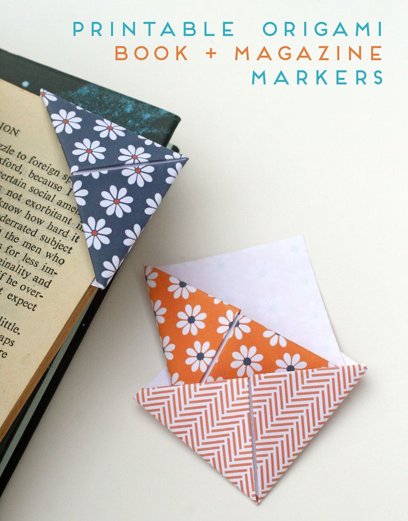 Book and Magazine Markers (Kirsty Neale)
